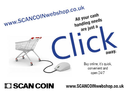 New SCAN COIN Webshop www.scancoinwebshop.co.uk